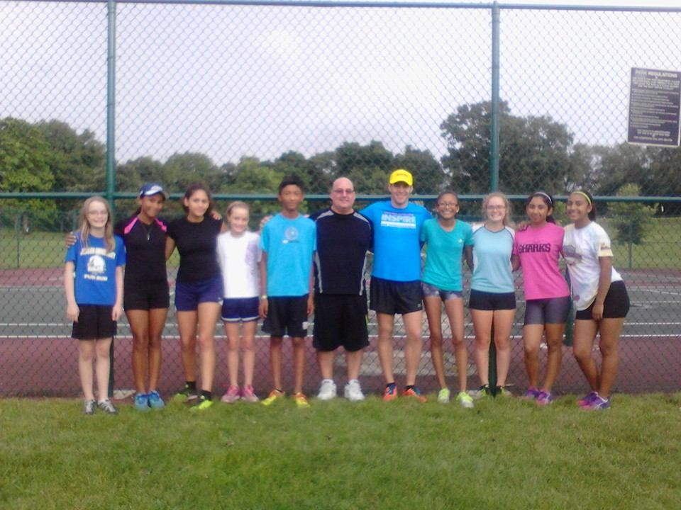 Michael Mannozzi appreciates joining the Elgin Sharks Track Club for a workout and shared his experiences with them.