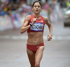 Kara Goucher, 2008 Olympic Trials 5,000m champion, three-time USA Outdoor 10,000m runner-up, 2007 World Outdoor 10,000m bronze medalist suffered from a sacral stress fracture in 2014.